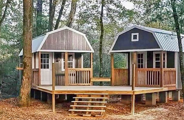 The 'We-Shed' Is a Dual Shed For Him and Her In Benbrook