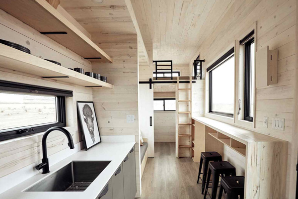Tiny House Life in Benbrook from a Shell Kit